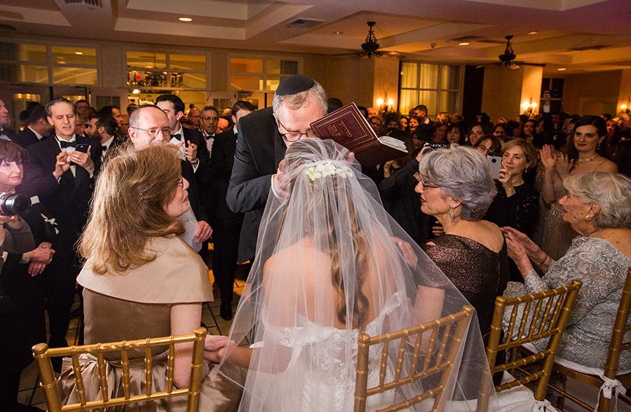modern orthodox wedding in New Jersey